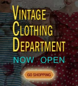 vintage clothing department