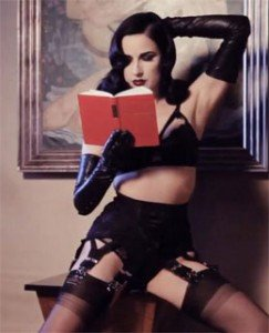dita von teese photo shoot