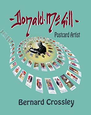 donald mcgill postcard artist book