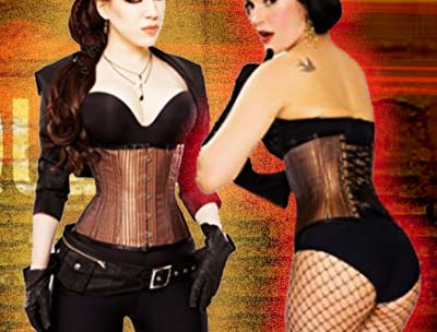 playgirl steel boned corset