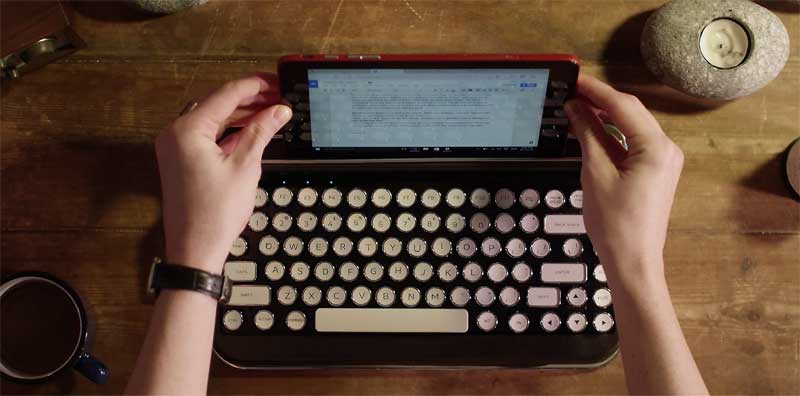 retro keyboard for tablets