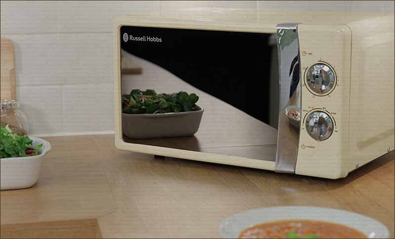 Russell Hobbs Solo Microwave Cream