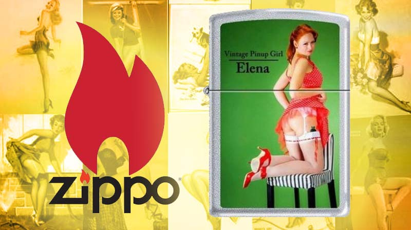 Zippo Limited Edition Lighter Vintage Pin-Up Girl