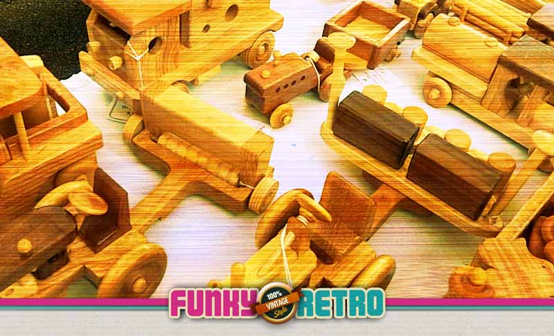 funky wooden toys